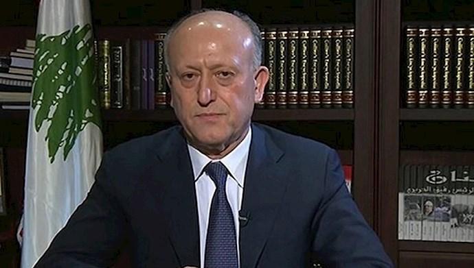 اشرف ریفی وزیر  سابق دادگستری لبنان