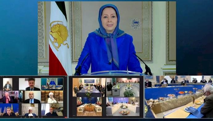 کنفرانس همبستگی عربی اسلامی با مردم و مقاومت ایران برای پایان دادن به تروریسم و جنگافروزی رژیم آخوندی