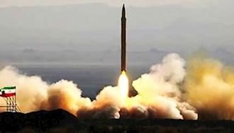 آزمایش موشکی رژیم