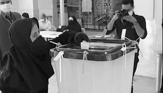 نمایش انتخابات رژیم - عکس از آرشیو