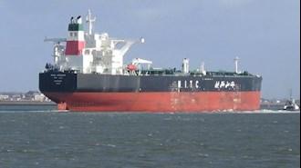 کشتی نفتی رژیم در مسیر  انتقال نفت - آرشیو