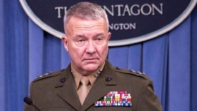 ژنرال فرانک مککنزی، فرمانده ستاد فرماندهی مرکزی آمریکا (سنتکام)