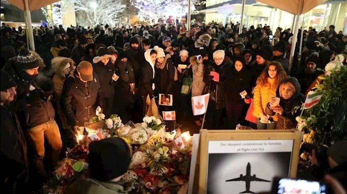 خانوادههای قربانیان هواپیمای اوکراینی