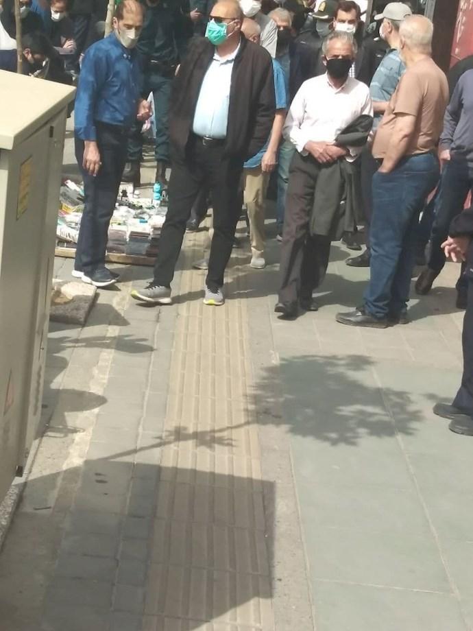 تهران - تجمع سراسری بازنشستگان و مستمریبگیران تأمین اجتماعی