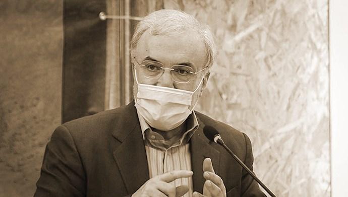 نمکی وزیر بهداشت دولت آخوند روحانی