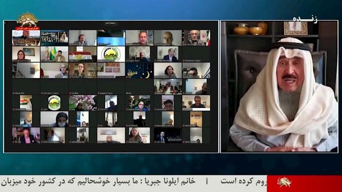 احمد جارالله - سردبیر روزنامهٔ السیاسه کویت