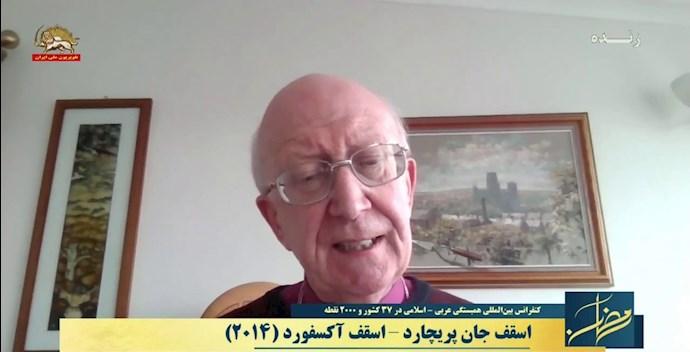اسقف جان بریچارد اسقف آکسفورد (۲۰۱۴)