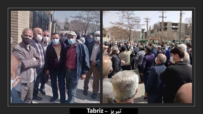 دومین تجمع سراسری بازنشستگان در ۲۵ شهر (۱۹ استان) - 9