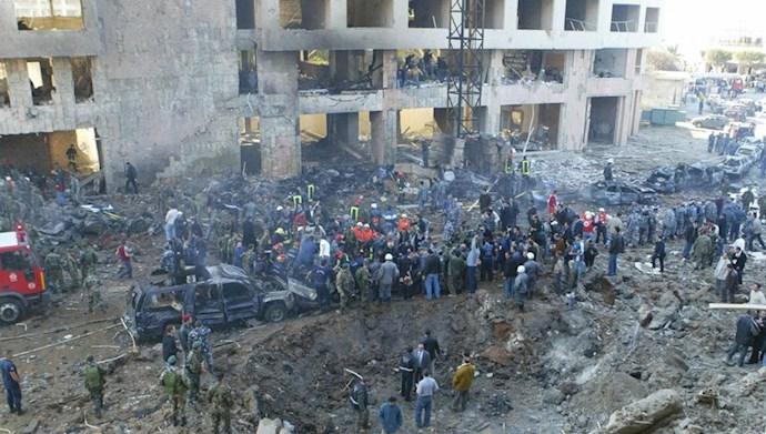 انفجار لبنان - ترور رفیق حریری