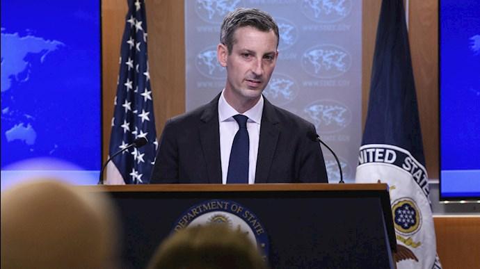ند پرایس، سخنگوی وزارت امور خارجه آمریکا