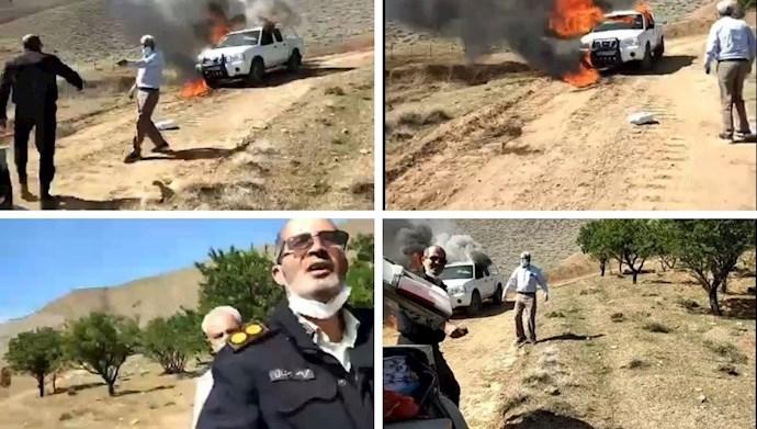 درگیری کشاورزان شهر کرد