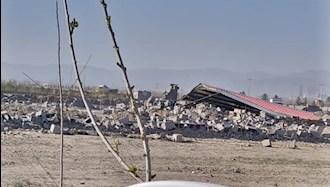 خراب کردن خانه های مردم در شاندیز مشهد