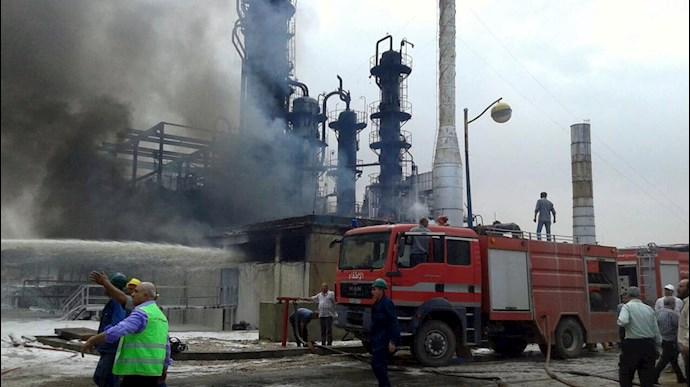 آتشسوزی در پالایشگاه اصلی حمص - 3