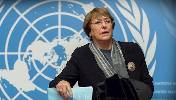میشل باشلت کمیساریای عالی حقوقبشر سازمان ملل