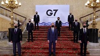 وزیران خارجه جی ۷ در انگلستان