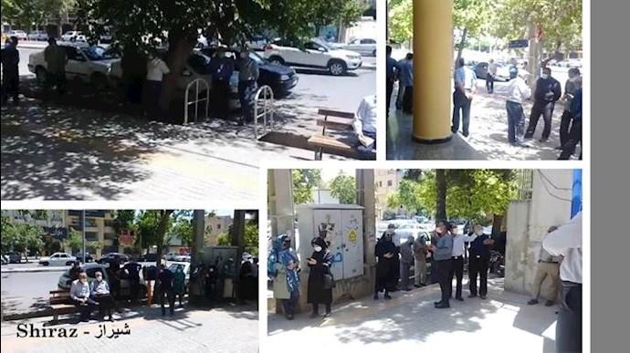 -تجمعات اعتراضی بازنشستگان و دانشآموزان - 4