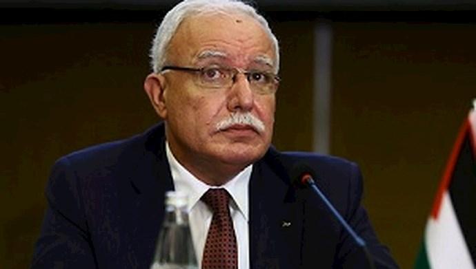 ریاض المالکی، وزیر امور خارجه فلسطین