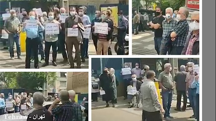 -تجمعات اعتراضی بازنشستگان و دانشآموزان - 0
