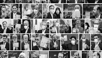 بازار مکاره نمایش انتخابات رژیم