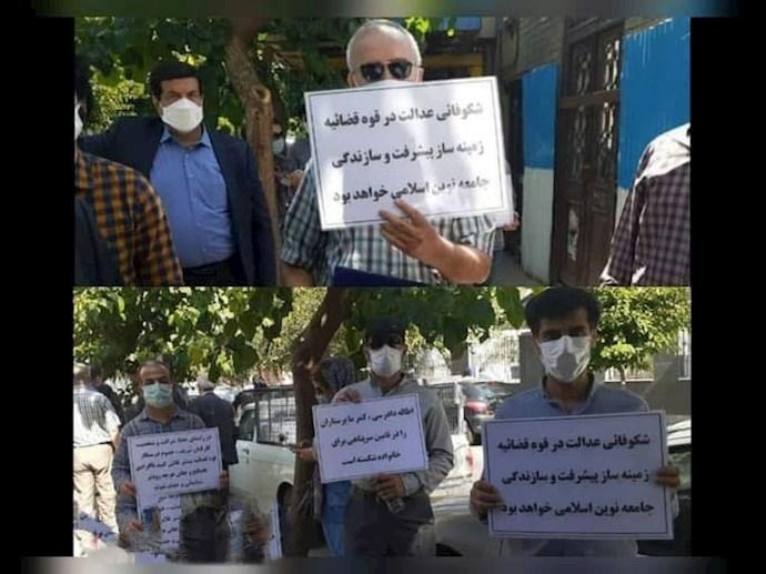 -پرستاران و کادر درمان بیمارستانها و مراکز اورژانس تهران