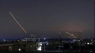 حمله هوایی و موشکی به سوریه - عکس از آرشیو
