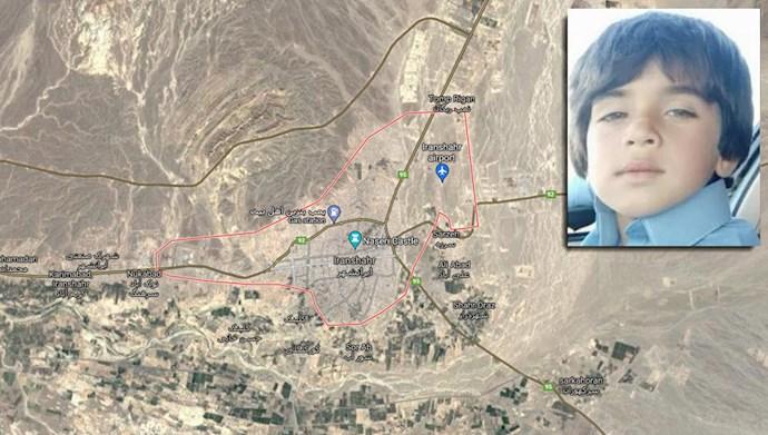 ایرانشهر  - کشته شدن یک کودک بلوچ توسط نیروهای سرکوبگر انتظامی