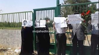 تجمع خانواده قتل عام شدگان ۶۷ در خاوران