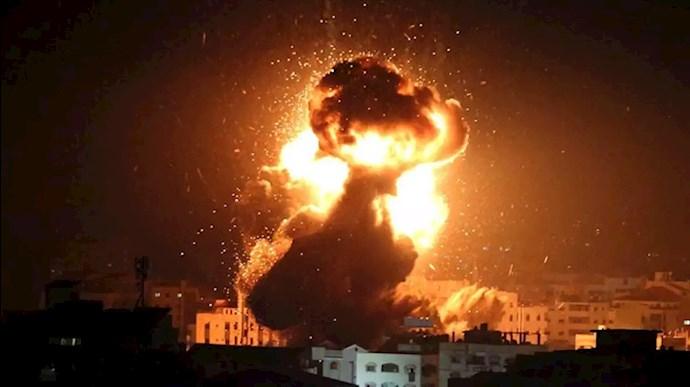 حملات هوایی اسراییل