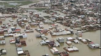 سیلاب مرگبار در ۱۴  استان