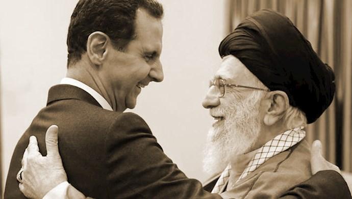 خامنهای - بشار اسد