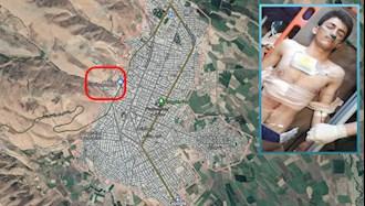 پیرانشهر - زخمی شدن یک کولبر توسط پاسداران جنایتکار