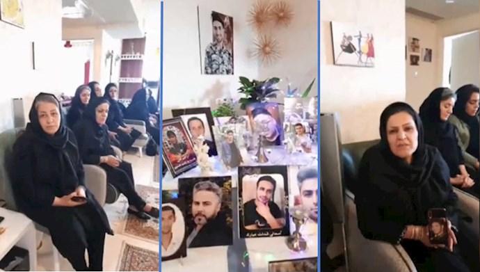 تجمع مادران شهیدان قیام آبان ۹۸- تحریم نمایش انتخابات رژیم آخوندی
