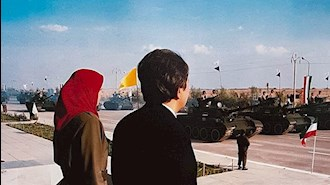رژه ارتش آزادیبخش ملی ایران در قرارگاه اشرف ۲۶مهر ۱۳۷۰