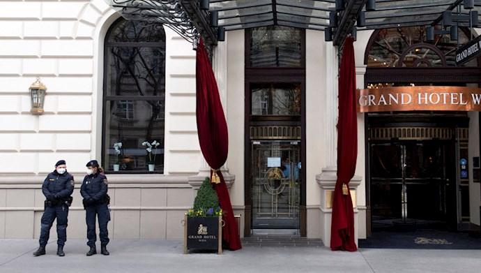 مذاکرات وین - هتل گرند