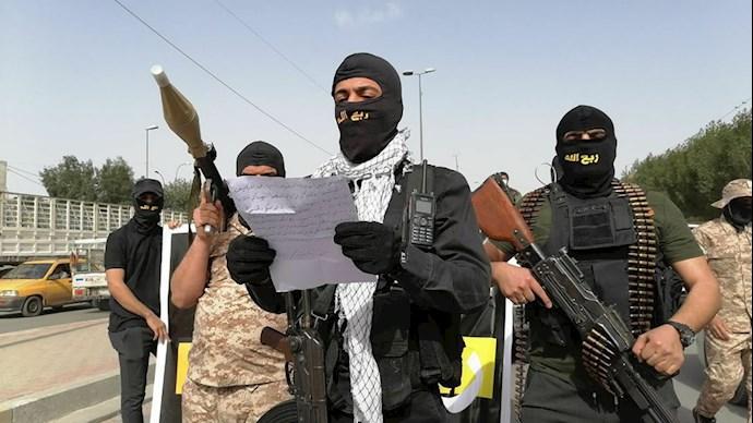 شبه نظامیان وابسته به رژیم ایران