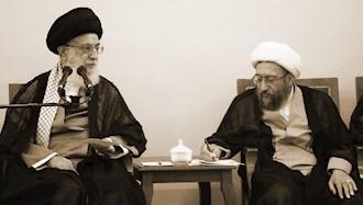 آخوند آملی لاریجانی - خامنهای ولی فقیه ارتجاع