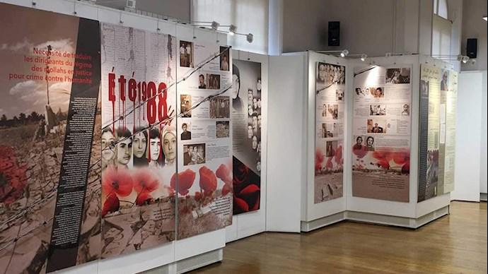نمایشگاه قتل عام ۳۰هزار زندانی سیاسی در سال ۶۷