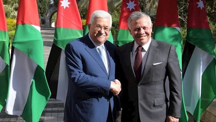 محمود عباس، رئیس دولت فلسطین و ملک عبدالله