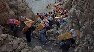 کولبران کرد - عکس از آرشیو