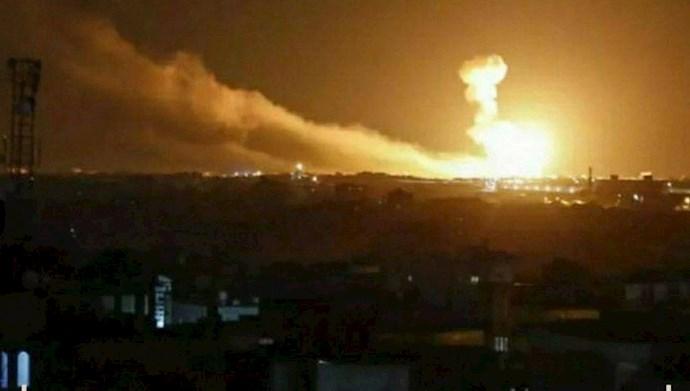 حمله راکتی به پایگاه نظامیان آمریکایی در عراق