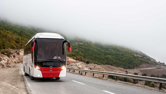 اتوبوس بین شهری - عکس از آرشیو
