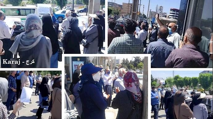 -تجمعات اعتراضی بازنشستگان و دانشآموزان - 1