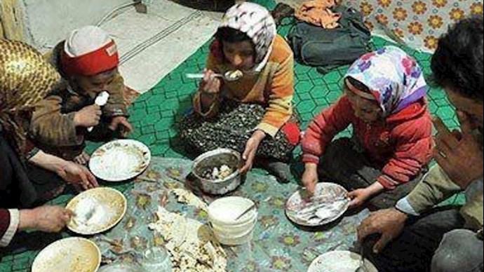 سفرههای فقیران در ایران