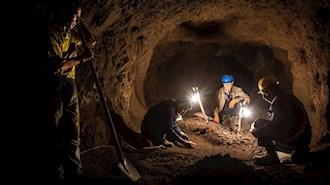 کار جانکاه در معدن