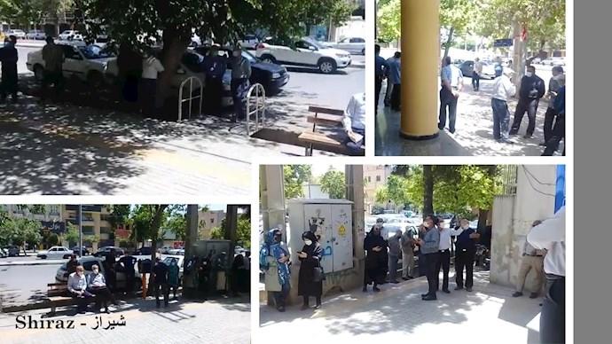 -تجمعات اعتراضی بازنشستگان و دانشآموزان - 3