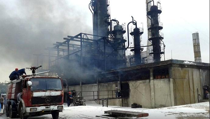 آتشسوزی در پالایشگاه اصلی حمص - 2