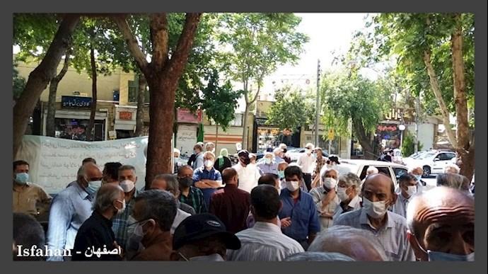 -تجمعات اعتراضی بازنشستگان و دانشآموزان - 2
