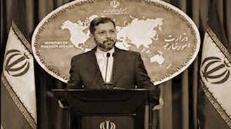 خطیبزاده سخنگوی وزارتخارجه رژیم آخوندی