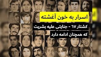 عفو بینالملل - قتل عام ۶۷