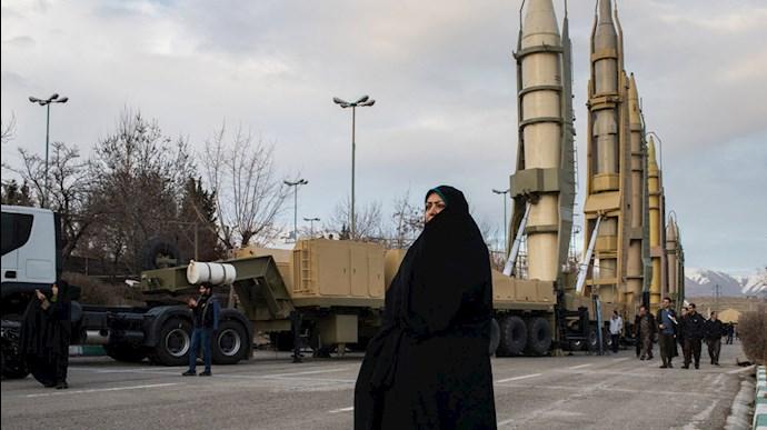 برنامه موشکی رژیم ایران